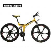 16193.31 руб. 35% СКИДКА|Запуск Leopard складной bicycmountain велосипеда 26 дюймовый стальной 21 Скоростные Велосипеды двухдисковые тормоза дорожные велосипеды racing bicyc BMX БИК-in Велосипед from Спорт и развлечения on Aliexpress.com | Alibaba Group