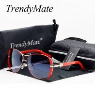 US $7.59 43% OFF|حار 2019 Oculos نظارات عالية الجودة نظارات نسائية خمر مع صندوق النظارات الشمسية النساء العلامة التجارية مصمم السيدات نظارات شمسية M071-في نظارات شمسية نسائية من الملابس والإكسسوارات على AliExpress