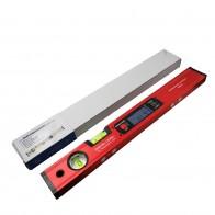 Цифровой транспортир Угол Finder Инклинометр электронный уровень 360 градусов с/без магнитов уровень угол наклона тесты правитель 400 мм купить на AliExpress