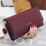 US $8.94 40% OFF New Fashion Women Wallets Long Style Multi functional wallet Purse Fresh PU leather Female Clutch Card Holder-in Wallets from Luggage & Bags on Aliexpress.com   Alibaba Group
