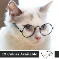 Забавные очки для глаз кошачьи очки классные солнцезащитные очки для маленьких собак Хэллоуин косплей фото реквизит аксессуары для ухода з...