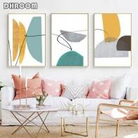 Абстрактный постер с принтом, современный синий и желтый художественный холст, картина, геометрические настенные художественные настенные... - Красивые постеры в ваш дом