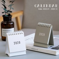 2020 Table Calendar Simplicity Agenda Planner Weekly Monthly To Do List Desktop Paper Calendars Office Stationery Supplies-in Calendar from Education & Office Supplies on AliExpress