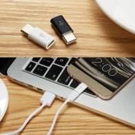 15.68 руб. 22% СКИДКА|Mi cro USB Женский Тип C Мужской адаптер для Letv Xiaomi mi 5X Oneplus samsung S8 плюс JLRJ88 купить на AliExpress
