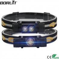 US $10.39 35% OFF|BORUiT 1000LM XM L2 LED Headlight Mini White Light Head Torch USB Charger 18650 Battery Headlamp Camping Hunting Flashlight-in Headlamps from Lights & Lighting on Aliexpress.com | Alibaba Group