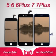 US $7.19 |3D Touch Display Module for iPhone 5 Screen Replacment AAA Digitizer Assembly for iPhone 6Plus 7 Plus LCD No Dead Pixel-in Mobile Phone LCD Screens from Cellphones & Telecommunications on Aliexpress.com | Alibaba Group