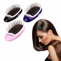 US $8.8 60% OFF|Portable Electric Ionic Hairbrush Negative Ions Hair Comb Brush Hair Modeling Styling Hairbrush-in Combs from Beauty & Health on Aliexpress.com | Alibaba Group