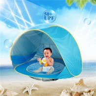 US $15.43 28% OFF|Baby Kids Beach Tent Pop Up Portable Shade Pool UV Protection Sun Shelter Portable Ball Pool Kids Tents  Children Toys-in Tents from Sports & Entertainment on Aliexpress.com | Alibaba Group
