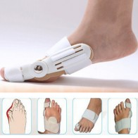 US $1.28 9% OFF|Bunion Splint Big Toe Straightener Corrector Foot Pain Relief Hallux Valgus Correction Orthopedic Supplies Pedicure Foot Care-in Foot Care Tool from Beauty & Health on Aliexpress.com | Alibaba Group