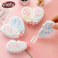US $1.06 25% OFF|2 pcs/pair Love Heart correction tape material escolar kawaii stationery office school supplies papelaria 10M-in Correction Tapes from Office & School Supplies on Aliexpress.com | Alibaba Group