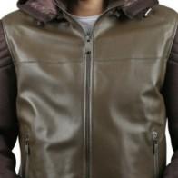 Мужская кожаная куртка Franko Armondi ME-K-696-17455 - Мужские кожаные куртки