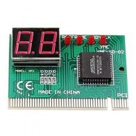 2-значный компьютер материнская плата анализатор карты отладки PCI тестер материнской платы Диагностический дисплей для настольных ПК - Electronicos