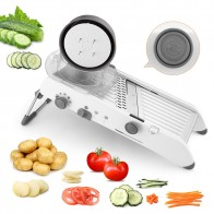 US $15.75 31% OFF|18 Types Use Mandoline Vegetables Cutter Shredders Stainless Steel Slicer Onion Potato Cutter Carrot Grater kitchen Tools-in Shredders & Slicers from Home & Garden on Aliexpress.com | Alibaba Group