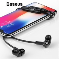 US $13.69 20% OFF|Baseus S06 Neckband Bluetooth Earphone Wireless headphone For Xiaomi iPhone earbuds stereo auriculares fone de ouvido with MIC-in Bluetooth Earphones & Headphones from Consumer Electronics on Aliexpress.com | Alibaba Group