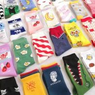 85.85руб. 26% СКИДКА|Креативные высококачественные модные женские носки в стиле Харадзюку каваи, забавные носки с изображением молочной еды, клубники и животных, милые носки-in Носки from Нижнее белье и пижамы on AliExpress - 11.11_Double 11_Singles