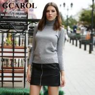 772.27 руб. 29% СКИДКА|GCAROL/Новое поступление, женский свитер с горлышком, эластичный вязаный пуловер, Осень зима, толстый базовый вязаный Топ, 6 цветов-in Пуловеры from Женская одежда on Aliexpress.com | Alibaba Group