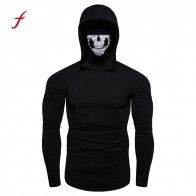 US $7.52 28% OFF|Feitong Hooded Sweatshirt 2018 Winter Men