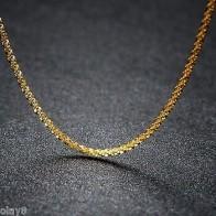 Женское разноцветное золотое ожерелье Au750, 18 К, желтое, розовое, белое, полная звезда, цепочка 2-2,5 г, 18 дюймов