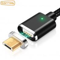 262.38 руб. |TORRAS Магнитный кабель Micro USB кабель магнит Зарядное устройство для зарядки данных Microusb Кабели 2 в 1 для Xiaomi Android мобильных телефонов провода купить на AliExpress