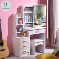 US $89.9  Louis Fashion Dresser Bedroom Simple Economic Space Makeup Table, Storage Box Small Size Cosmetic Cabinet-in Dressers from Furniture on Aliexpress.com   Alibaba Group