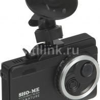 Видеорегистратор с радар-детектором Sho-Me COMBO SLIM SIGNATURE GPS черный
