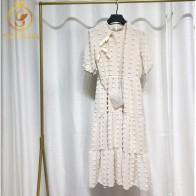 1110.05 руб. 40% СКИДКА|Женское летнее длинное платье, белое однотонное платье в богемном стиле с коротким рукавом для девушек, повседневная одежда 2019-in Платья from Женская одежда on Aliexpress.com | Alibaba Group