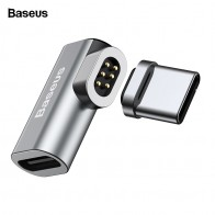 US $9.99 25% OFF|Baseus USB Type C Cable To Type C Magnetic Adapter For Macbook Samsung s8 s9 OnePlus 5 5T 6 Fast Charging Magnet USB C Connector-in Mobile Phone Adapters from Cellphones & Telecommunications on Aliexpress.com | Alibaba Group