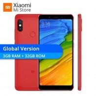 10073.08 руб. |Глобальная версия Xiaomi Redmi Note 5 3 ГБ 32 ГБ Snapdragon 636 Octa Core 5,99
