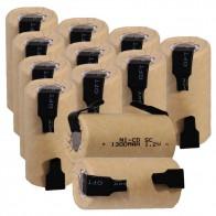 876.89 руб. 23% СКИДКА|12 шт. SC 1300 мАч 1,2 в никель кадмиевая батарея Аккумуляторы для Электрическая отвертка дрель 4,25 см * 2,2 см для электроинструментов-in Подзаряжаемые батареи from Бытовая электроника on Aliexpress.com | Alibaba Group