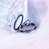 77.01 руб. 29% СКИДКА|1 мм новое панк соединение короткое тонкое титановое шт. кольцо для пальцев 5 шт. в партии синее серебро 6 7 8 9 # оптовая продажа пары хвостовое кольцо купить на AliExpress