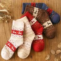 486.51 руб. 40% СКИДКА|Женские теплые шерстяные зимние осенние носки, 5 пар/лот, толстые рождественские подарочные носки с изображением пива, милые японские женские носки с мультяшными животными-in Носки from Нижнее белье и пижамы on Aliexpress.com | Alibaba Group