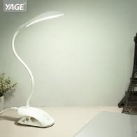 564.74 руб. 42% СКИДКА|YAGE 14 шт. светодиодный настольная лампа USB Сенсорная Настольная лампа с зажимом чтение в постели книга ночник светодиодный настольная лампа 3 режима защита глаз-in Настольные лампы from Лампы и освещение on Aliexpress.com | Alibaba Group