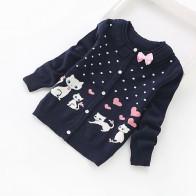 877.02 руб. 11% СКИДКА|Новинка 2016 года, детские кардиганы милые хлопковые свитера для девочек Модный хлопковый кардиган на возраст от 3 до 16 лет, 8518-in Свитера from Мать и ребенок on Aliexpress.com | Alibaba Group