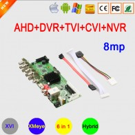 2193.86 руб. 39% СКИДКА|8MP H265 + 8CH/4CH XMeye приложение коаксиальный 6 в 1 гибрид коаксиальный WIF AHD TVI CVI DVR NVR материнская плата бесплатная доставка-in Видеорегистратор для видеонаблюдения from Безопасность и защита on Aliexpress.com | Alibaba Group