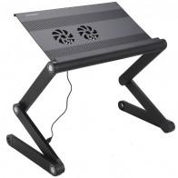 Купить Стол для ноутбука CROWN MICRO CMLS-100, черный по низкой цене с доставкой из маркетплейса Беру