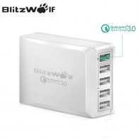 US $20.88 35% OFF|BlitzWolf BW S7 Quick Charge QC3.0 Adapter USB Charger Smart 5 Port Desktop Charger Mobile Phone Travel Charger For Smartphone-in Mobile Phone Chargers from Cellphones & Telecommunications on Aliexpress.com | Alibaba Group