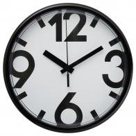 ЮККЕ Настенные часы - белый, черный - IKEA