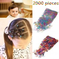 US $0.74 47% OFF|M MISM 2000PCS Disposable Colorful Elastic Hair Band Bezel For Kids Girl Hair Accessories Scrunchy Gum For Hair Rubber Band-in Hair Accessories from Mother & Kids on Aliexpress.com | Alibaba Group
