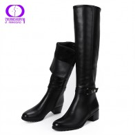 US $27.87 65% OFF|AIMEIGAO knee High Winter Fur Boots Over The Knee Women Boots Soft Leather Zipper Women Boots Thigh High Winter Warm Shoes-in Over-the-Knee Boots from Shoes on Aliexpress.com | Alibaba Group