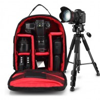 US $25.19 30% OFF|DSLR Camera Backpack Bag Case For Canon 200D 1300D 5D 6D 7D Mark II III 800D 77D 750D 60D Nikon D3400 D5300 Sony alpha A7 ii-in Camera/Video Bags from Consumer Electronics on Aliexpress.com | Alibaba Group