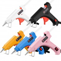 Mini Hot Glue Gun 30W High Temperature Glue Gun for DIY Crafts, Projects, Fast Home Repairs Creative Arts, with 6pcs Glue Sticks - Время новых хобби