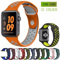 US $2.72 44% OFF|Silicone strap band for Nike apple watch series 4/3/2/1 42mm 38mm rubber wrist bracelet adapter iwatch 40/44mm Apple watch band-in Watchbands from Watches on Aliexpress.com | Alibaba Group