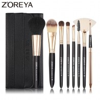 US $7.58 46% OFF|Zoreya Brand 8pcs High Quality Synthetic Fibers Makeup Brush Set Powder Foundation Large Eye Shadow Angled Brow Brushes 3 Colors-in Eye Shadow Applicator from Beauty & Health on Aliexpress.com | Alibaba Group