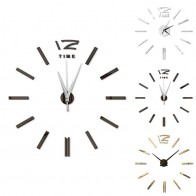 US $2.9 29% OFF|Antique Mini DIY Mirror Surface Clock Sticker Mute Wall Clock 3D Wall Watch Living Room Home Office Decor Christmas Gift-in Wall Stickers from Home & Garden on Aliexpress.com | Alibaba Group