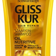 Шампунь для секущихся волос - Gliss Kur Oil Nutritive Shampoo: купить по лучшей цене в Украине - MAKEUP