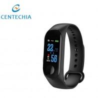 € 3.66 20% de DESCUENTO|Nueva pulsera inteligente M3 pulsera impermeable pantalla táctil Bluetooth Control Fitness podómetro para iphone con función de frecuencia cardíaca-in Podómetros from Deportes y entretenimiento on Aliexpress.com | Alibaba Group