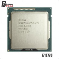 Процессор Intel Core i7-3770 i7 3770 3,4 ГГц четырехъядерный процессор 8M 77W LGA 1155
