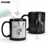 659.38 руб. 49% СКИДКА|ZOOOBE креативная чашка для кофе и молока, тепловая изменяющая цвет кружка, чувствительные кружки для морфинга, Температурное зондирование, подарок на день рождения, Прямая доставка-in Кружки from Дом и сад on Aliexpress.com | Alibaba Group