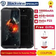 "Blackview BV9500 смартфон MT6763T Octa Core 5,7 ""18:9 FHD + Экран IP68 водонепроницаемый мобильный телефон 10000 mAh 4 GB 64 GB 4G мобильный телефон купить на AliExpress"