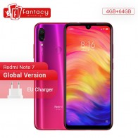 US $175.75 17% OFF|Global Version Xiaomi Redmi Note 7 4GB 64GB 48MP Cameras Snapdragon 660 Octa Core 6.3